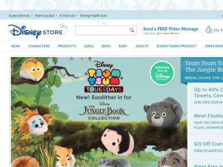 Shop at disneystore.com