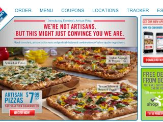 Shop at dominos.com