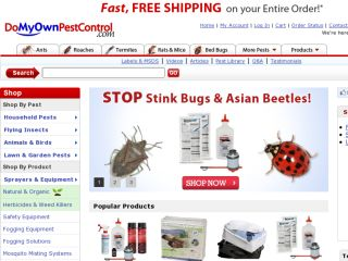 Shop at domyownpestcontrol.com