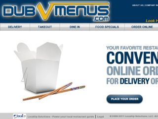 Shop at dubvmenus.com