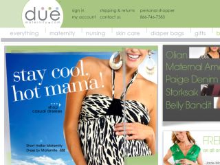 Shop at duematernity.com