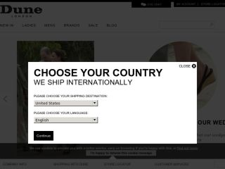 Shop at dune.co.uk
