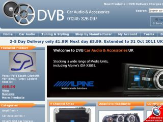 Shop at dvbcaraudio.co.uk