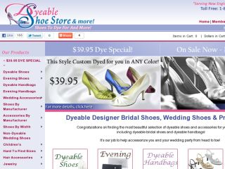 Shop at dyeableshoestore.com