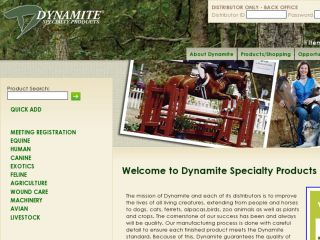 Shop at dynamitemarketing.com