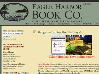 Shop at eagleharborbooks.com