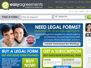 Shop at easyagreements.com
