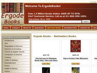 Shop at ergodebooks.com