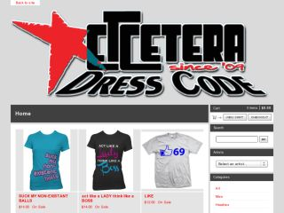 Shop at etceteradresscode.bigcartel.com