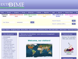 Shop at extradime.com