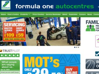 Shop at f1autocentres.co.uk