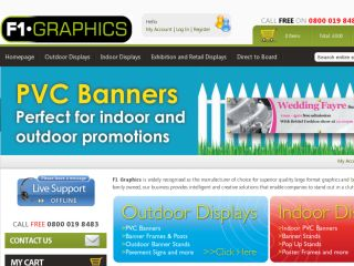 Shop at f1banners.com