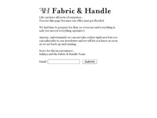 Shop at fabric-and-handle.com