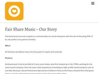 Shop at fairsharemusic.com