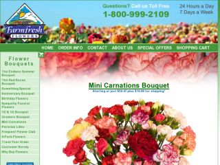 Shop at farmfreshflowers.com