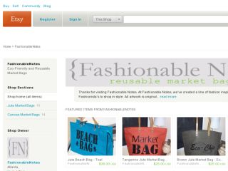 Shop at fashionablenotes.etsy.com
