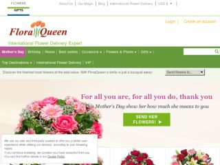 Shop at floraqueen.com