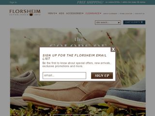 Shop at florsheim.com