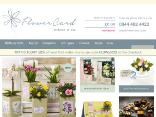 Shop at flowercard.co.uk