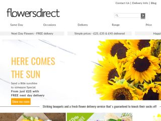 Shop at flowersdirect.co.uk