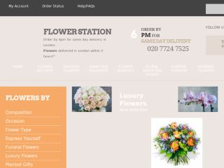 Shop at flowerstation.co.uk