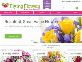 Shop at flyingflowers.co.uk
