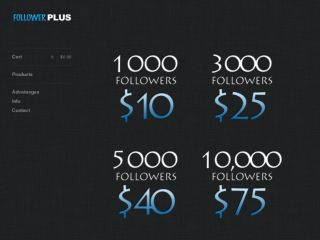 Shop at followerplus.bigcartel.com