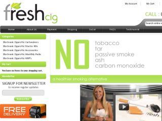 Shop at freshcig.co.uk