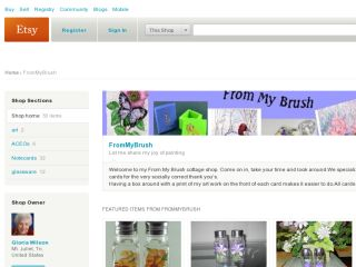 Shop at frommybrush.etsy.com