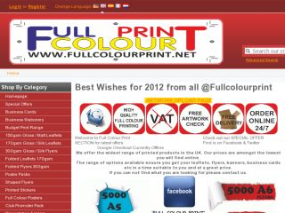 Shop at fullcolourprint.net