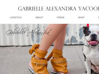 Shop at gabriellealexandra.com