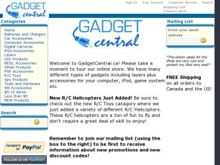 Shop at gadgetcentral.ca