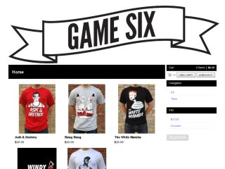 Shop at game-six.com