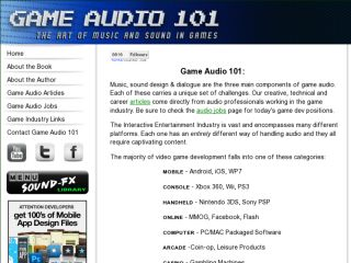 Shop at gameaudio101.com