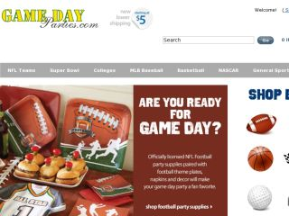 Shop at gamedayparties.com