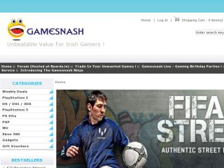Shop at gamesnash.ie