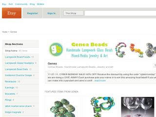 Shop at genea.etsy.com