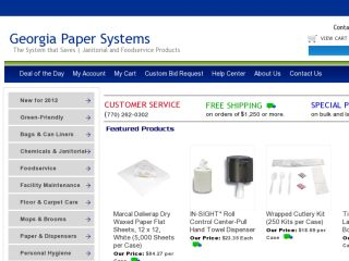 Shop at georgiapapersystems.com