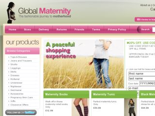 Shop at globalmaternity.com
