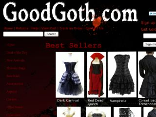 Shop at goodgoth.com