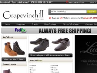 Shop at grapevinehill.com