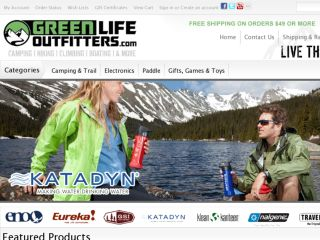 Shop at greenlifeoutfitters.com
