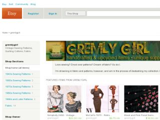 Shop at gremlygirl.etsy.com