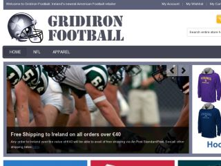 Shop at gridironfootball.ie