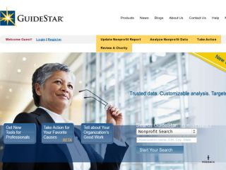 Shop at guidestar.org