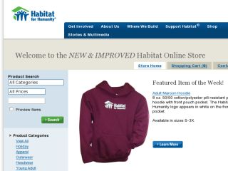 Shop at habitatstoreonline.com