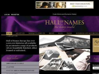 Shop at hallofnames.org.uk