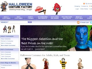 Shop at halloweencostumefactory.com
