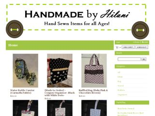 Shop at handmadebyhilani.bigcartel.com