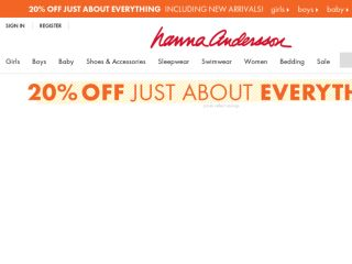 Shop at hannaandersson.com